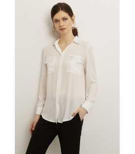 Camisa Blanca Civit Mujer