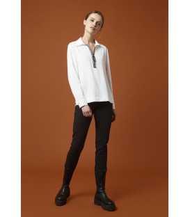 Camisa Blanca Luis Civit Mujer