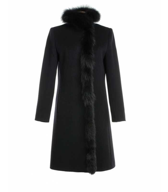 1476f2e080d8 Abrigo con Piel Mujer Cinzia Rocca - Maria Luisa Maestre®