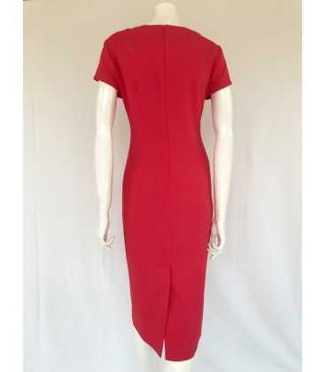 Vestido Rojo Mujer Maria Grazia Severi
