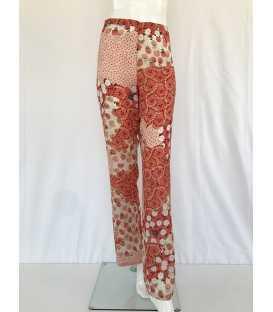 Pantalón Estampado Mujer Luis Civit