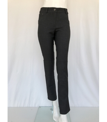 Pantalón Gris Mujer Tricot Chic