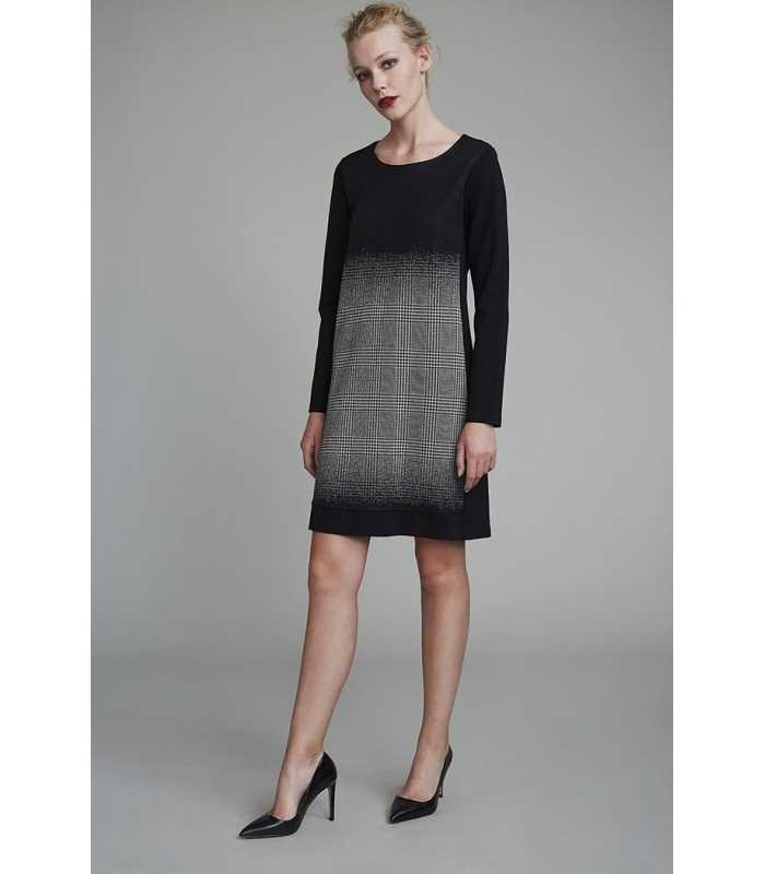 0cc239d954978 Vestido Negro Mujer Luis Civit - Maria Luisa Maestre®