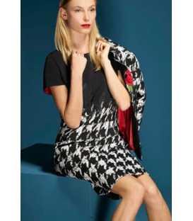 Vestido Pata de Gallo Mujer Piero Moretti