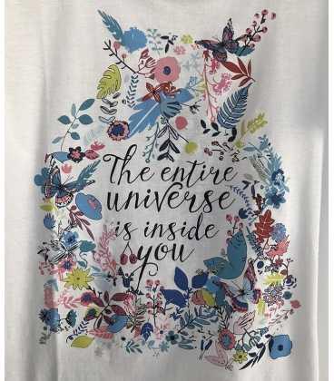 Camiseta Básica Mujer Tricot Chic