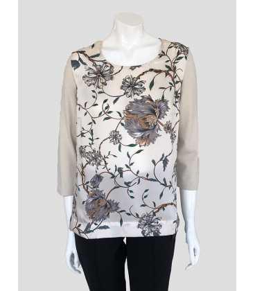 Suéter Estampado Floral Mujer Naulover