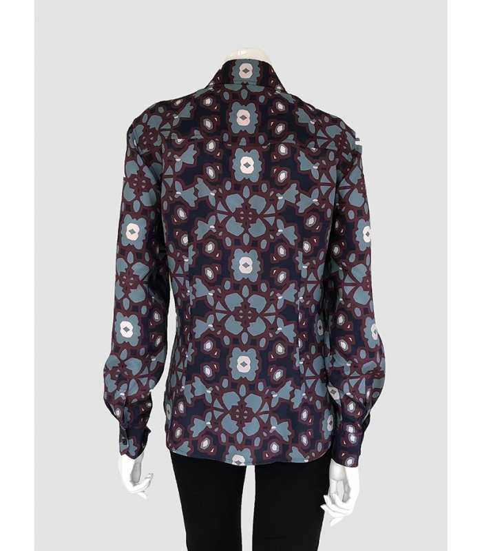 Camisa Estampada Mujer Mirto - Maria Luisa Maestre® 63b6b768fc1