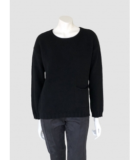 Suéter Negro Mujer Tricot Chic