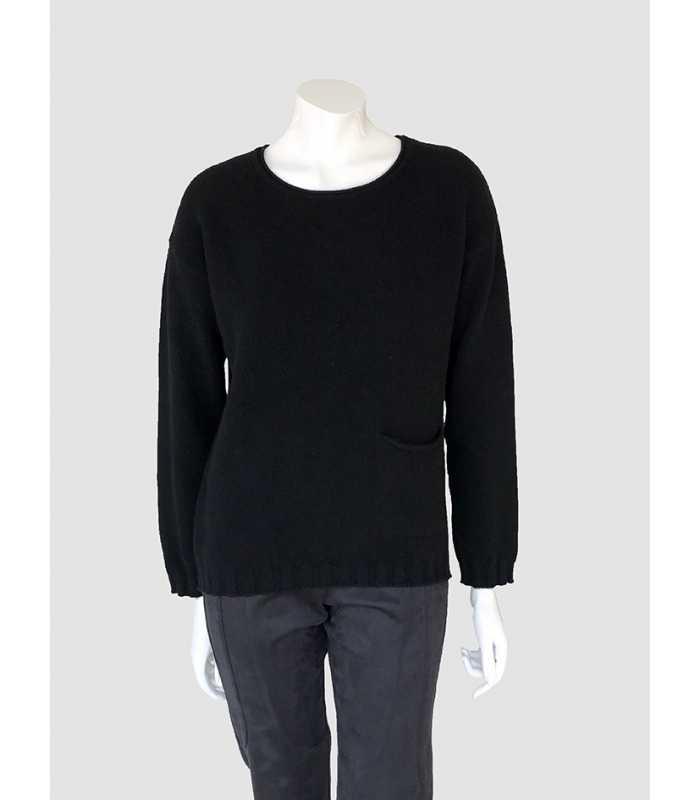 Habitar pluma pulmón  Suéter Negro Mujer Tricot Chic - Maria Luisa Maestre®
