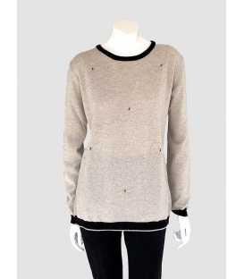 Suéter Beige Mujer Tesoro