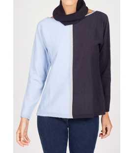 Suéter Bicolor Mujer Anna Mora