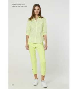 Camisa Rayas Mujer Luis Civit