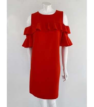 Vestido Rojo Mujer Anna Rachele