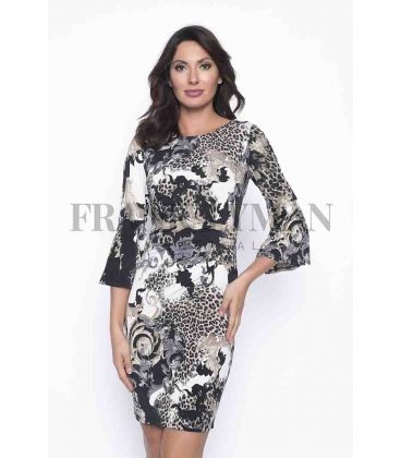 Vestido Estampado Mujer Frank Lyman