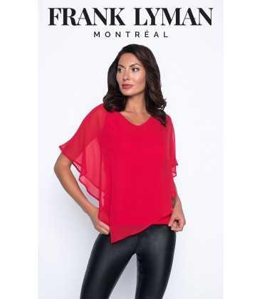 Top Rojo Mujer Frank Lyman