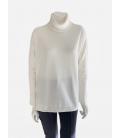 Suéter Blanco Roto Mujer Marella