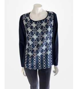 Suéter Estampado Mujer Naulover