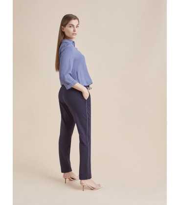 Pantalón Marino Mujer Elena Miro