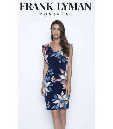 Vestido Flores Mujer Frank Lyman