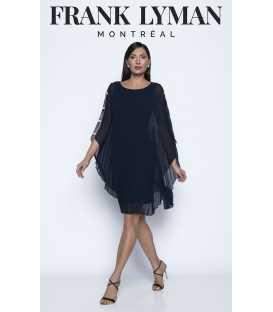 Vestido Plisado Mujer Frank Lyman