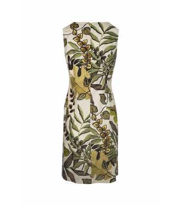 Vestido Estampado Luis Civit Mujer