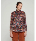 Camisa Estampada Seda Mirto Mujer