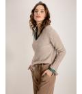 Suéter Brillos Maria Bellentani Mujer