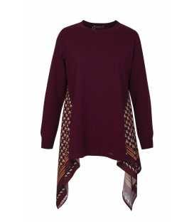 Suéter Burdeos Naulover Mujer