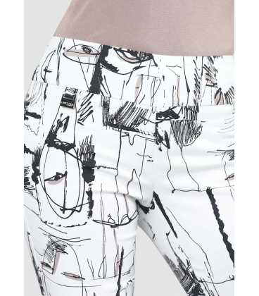 Pantalón Estampado Lisette Mujer