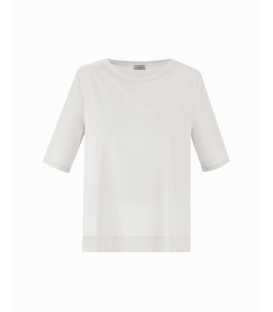 Camiseta Plisada Marella Mujer