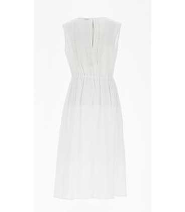 Vestido Blanco Marella Mujer