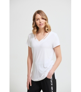 Camiseta Blanca Joseph Ribkoff Mujer